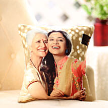 Mom n Me Personalized Cushion: Send Gifts to Purnia