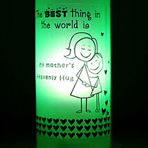 Mothers Hug Bottle Lamp: Home Decor to Lucknow