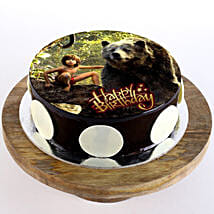 Mowgli & Baloo Cake: Cartoon Cakes