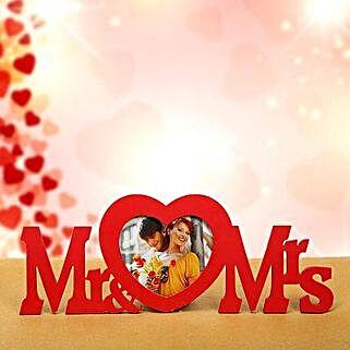 Mr n Mrs Frame: Valentines Day Special Photo Frames