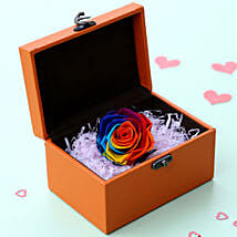 Mystic- Beautiful Forever Rainbow Rose: Gifts for Promise Day