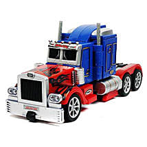 Optimus One Button Transforming Car: Toy Vehicles