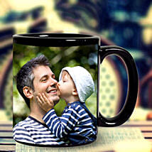 Personalized Black Mug: Personalised gifts for birthday