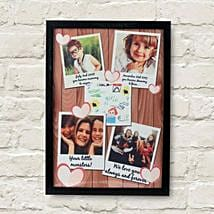 Personalized Cherishing Love Frame: Mothers Day Photo Frames