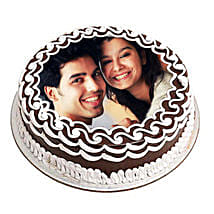 Personalized Chocolate Delicacy: Photo Cakes to Dehradun