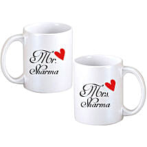 Personalized Couple Mugs: Send Personalised Gifts to Chittoor