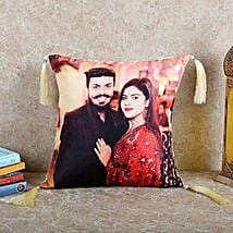 Personalized Happy Cushion: Gifts for Anniversary