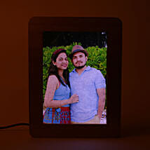 Personalized LED Wooden Frame: Photo Frames