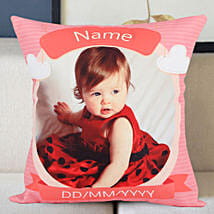 Personalized Little Angel Cushion: Birthday Gifts for Sister