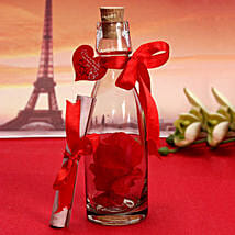 Personalized Love Message Bottle: Anniversary Gifts Mohali