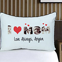 Personalized Love Pillow Cover: Cushions for Mother's Day