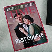 Personalized Magazine Cover: Send Anniversary Gifts for Wife