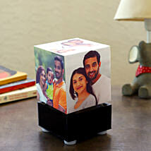 Personalized Rotating Lamp Mini: Birthday Gifts for Girls