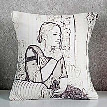 Personalized Sketch Cushion: Personalised Cushions