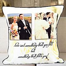 Personalized Years Of Togetherness Cushion: Send Wedding Personalised Gifts