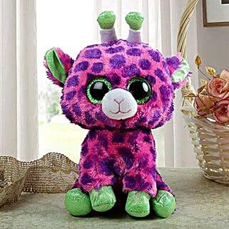 Pink Giraffe: Send Soft Toys