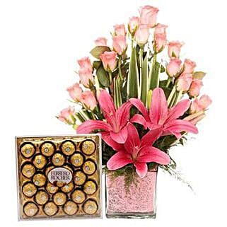 Pink Sweetness Reflected: Diwali Gifts Bilaspur