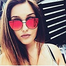 Prishie Red Sunglasses For Female: Sunglasses for Her