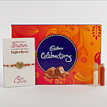 Rakhi Cadbury Celebrations Combo: Send Rakhi to Bhilwara