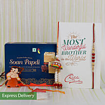 Rakhi With Delicious Sweets: Rakhi With Sweets Aurangabad