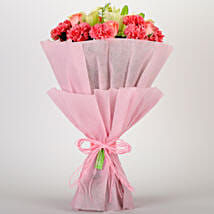 Ravishing Mixed Flowers Bouquet: Send Roses to Ghaziabad