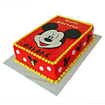 Red Mickey Mouse Cake: Mickey Mouse Cakes