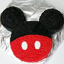 Red N Black Mickey Mouse Cake: Mickey Mouse Cakes