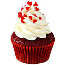 Red Velvet Cupcakes: Send New Year Cakes to Ghaziabad