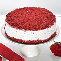 Red Velvet Fresh Cream Cake: Cakes for Colleague