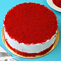 Red Velvet Fresh Cream Cake: Send New Year Cakes to Ludhiana