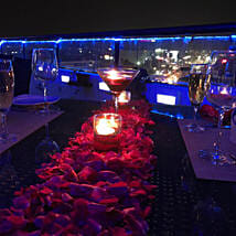 Romantic Rooftop Candlelight Dinner: Gifts to Bangalore