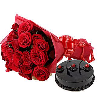 Roses N Chocolaty Love: