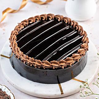 Royal Truffle Cake: Bhai-Dooj Gifts Hyderabad