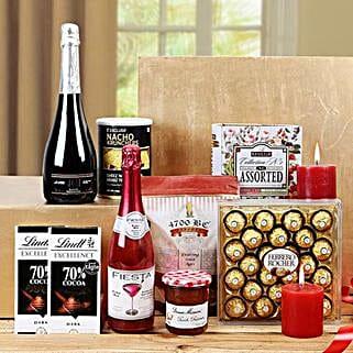 Sensational Treat Gift Basket: Send New Year Gift Hampers
