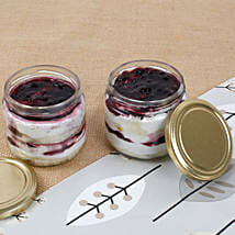 Set of 2 Mysterious Blueberry Jar Cake: Jar Cakes