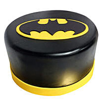Shining Batman Cream Cake: Send Chocolate Cakes to Hyderabad