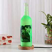 Shining Memory Personalized Lamp: Personalised Gifts Badlapur