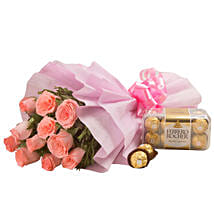 Simple Elegance: Send Flowers & Chocolates for Love