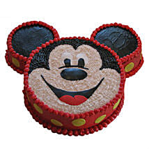 Smiley Mickey Mouse Cake: Mickey Mouse Cakes