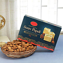 Soan N Nut Combo: Sweets & Dry Fruits for Bhai Dooj