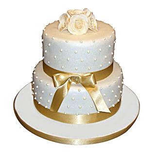 Special 2 Tier Anniversary Cake: Wedding Cakes