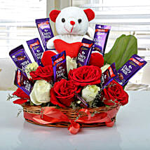 Special Surprise Arrangement: Gifts to Dum Dum Cantt - Kolkata
