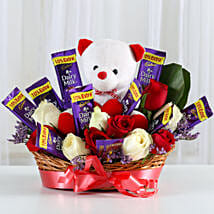Special Surprise Arrangement: Valentines Day Flowers & Chocolates