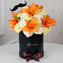 Sunny Floral Delight for Him: Gifts for Husband