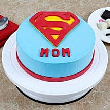 Supermom Cake: Designer cakes for Mothers Day