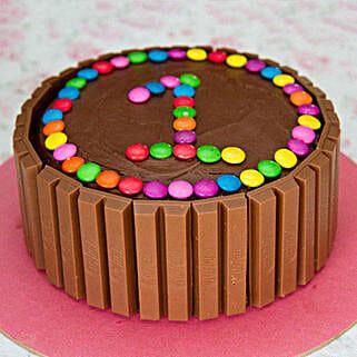 Supreme Kit Kat Cake: Cake Delivery in Tirur
