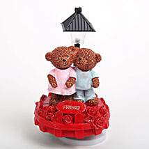 Sweet Friend Teddy Showpiece: Gifts for Hug Day