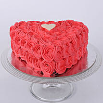 Valentine Heart Shaped Cake: Send Heart Shaped Cakes