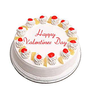 Valentine Special Pineapple Cake: Cakes to Karauli