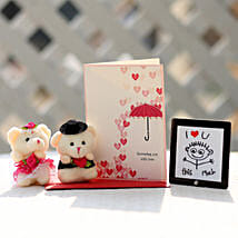 Valentines Table Top & Teddy Bears Combo: Greeting Cards